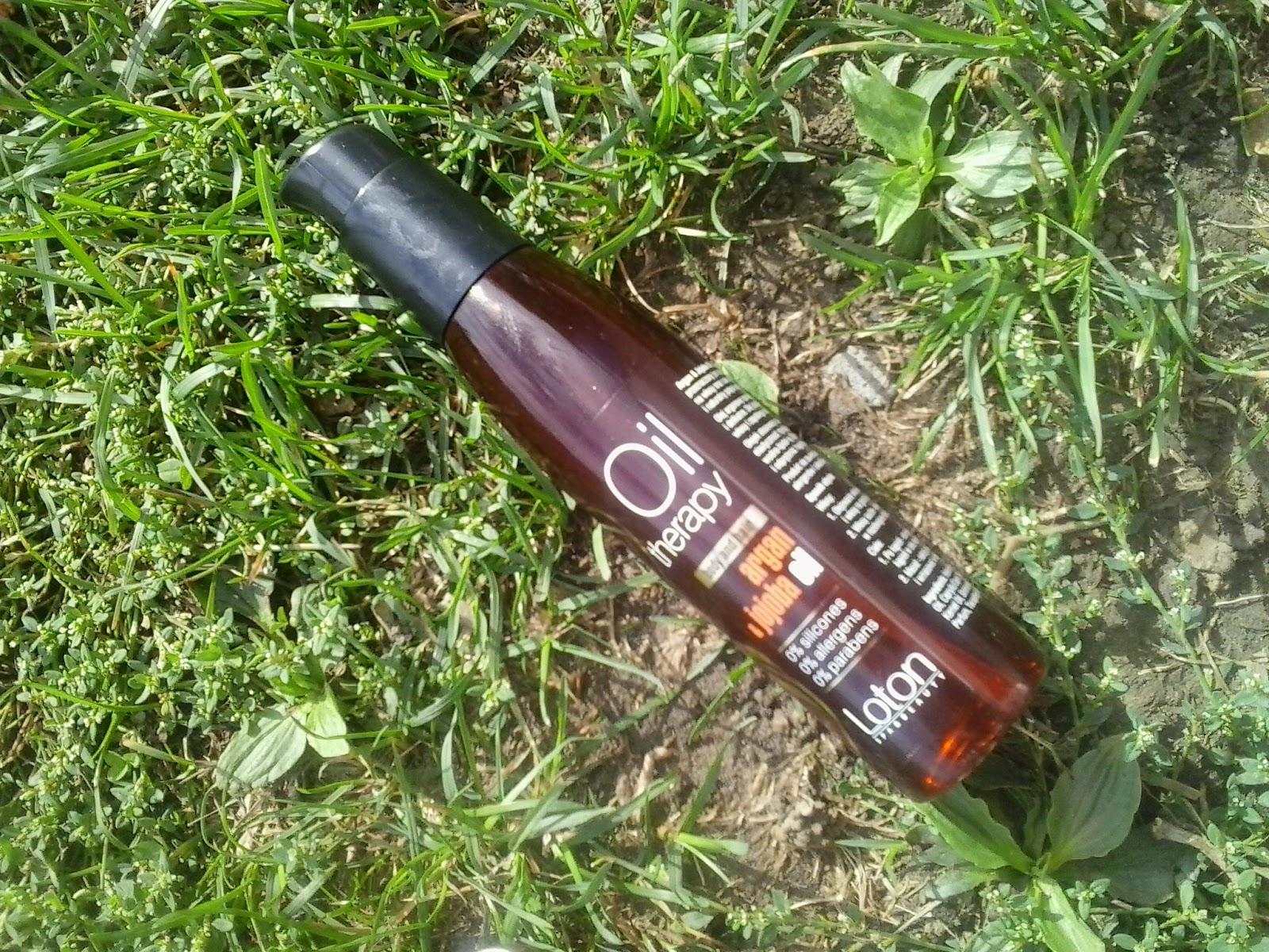 Loton, Spa & Beauty, olejek do ciała i włosów, Argan & Jojoba Oil