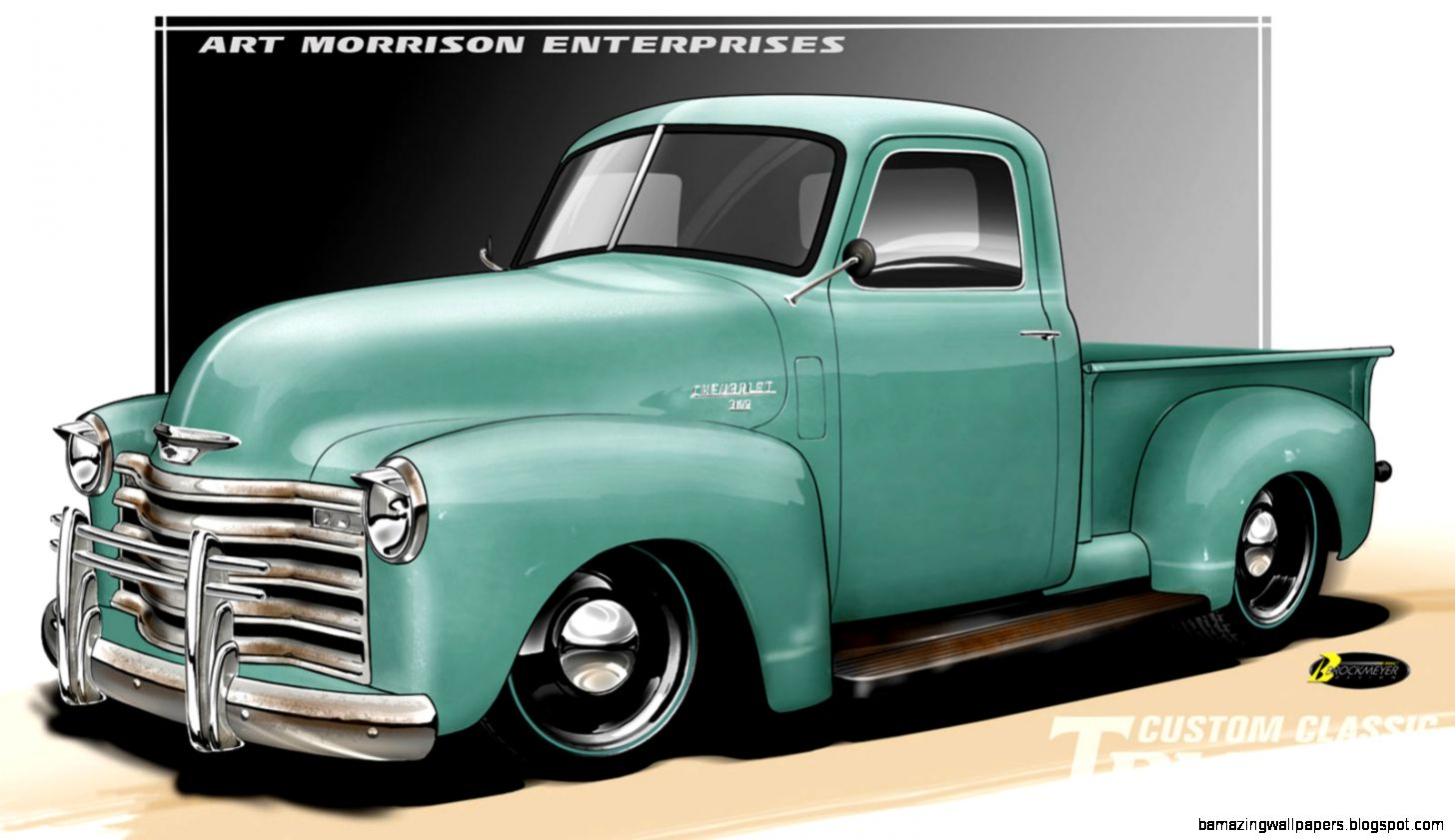 Classic Truck Drawings Amazing Wallpapers