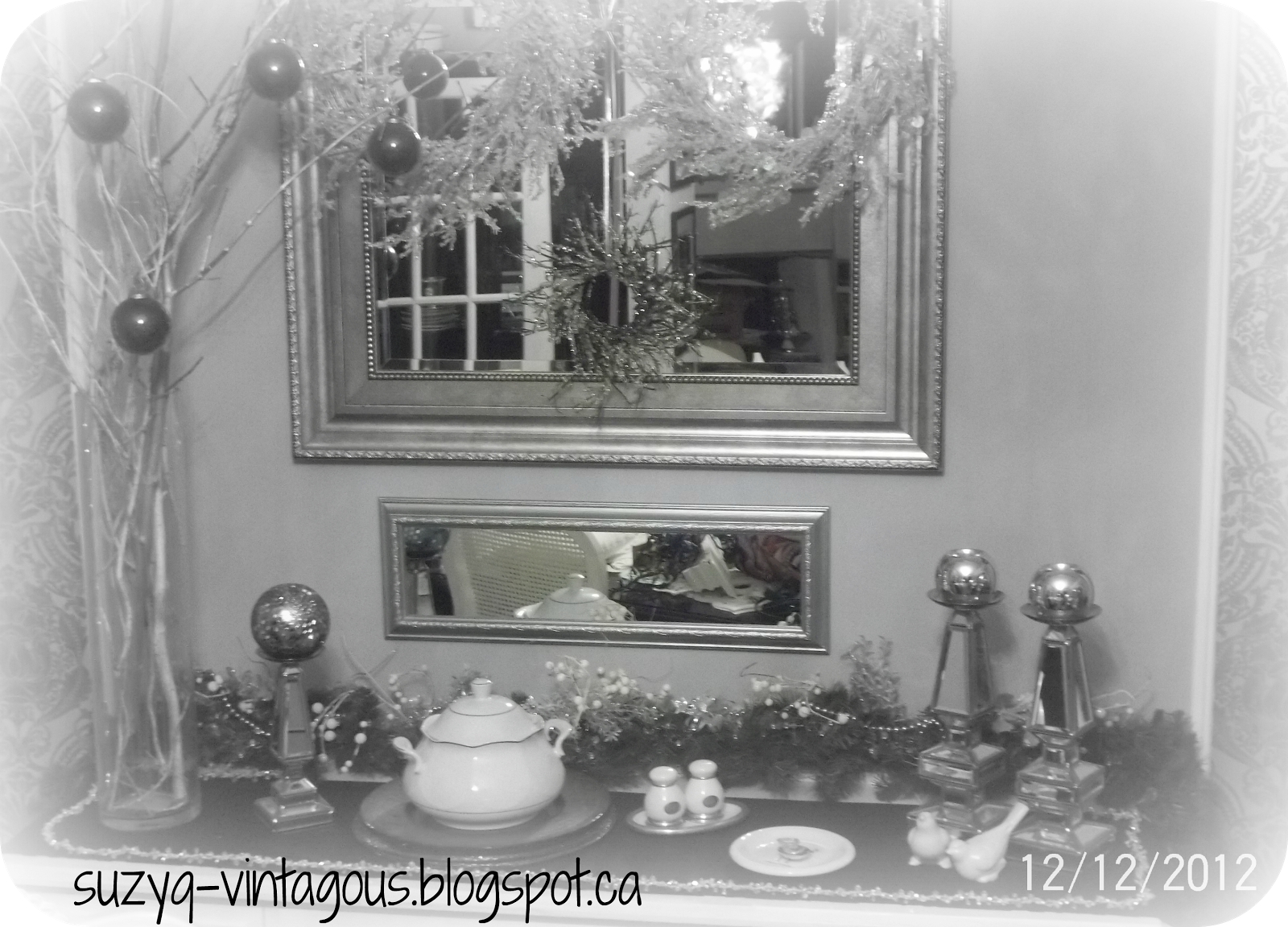 Simply Vintageous By Suzan Christmas In The Dining Room