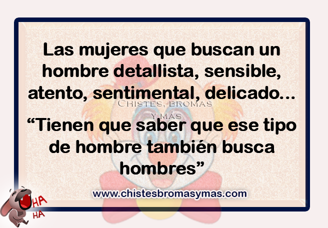 Chistes gráficos, Chistes de mujeres,