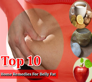 Top 10 Home Remedies For Belly Fat