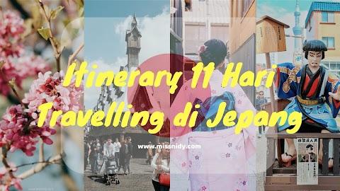 Itinerary 11 Hari Travelling di Jepang (Spring Trip)