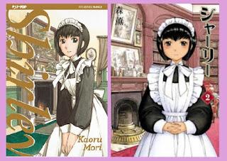 portadas del cómic manga Shirley, de Kaoru Mori