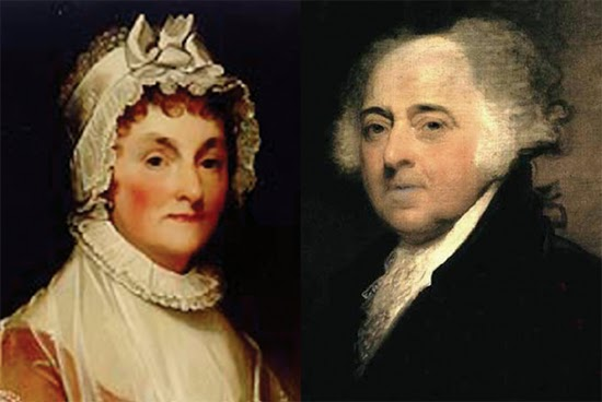 abigail adams and john relationship with congress