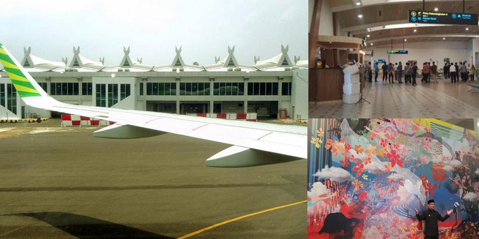 Tampilan terbaru Bandara Husein Sastranegara