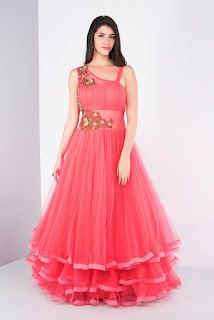 Multilayered Gown Style Top
