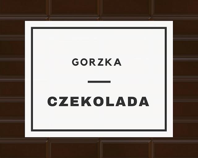 TREND: Gorzka czekolada