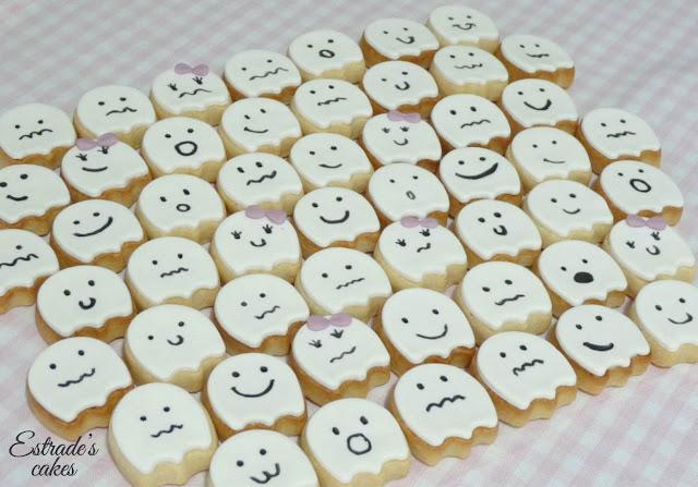 galletas de fantasmas, geniales para hacer con niños 2