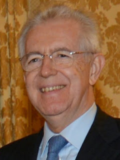Mario Monti was Prime Minister of Italy from 2011 to 2013
