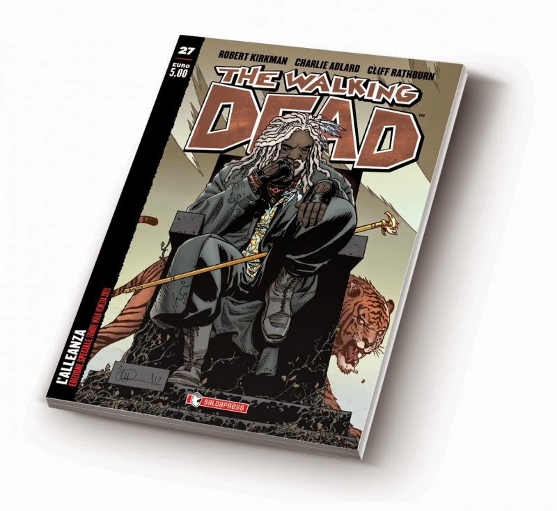 The Walking Dead #27 (variant cover)