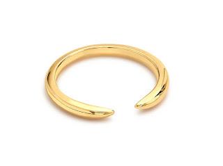 Missoma Double Horn Ring
