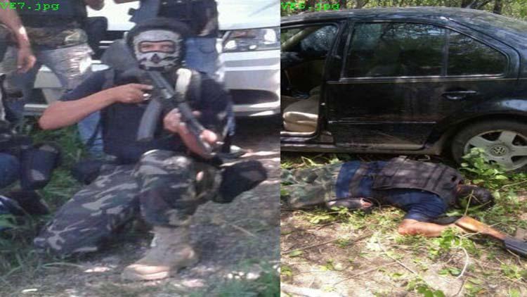 EL DÍA QUE LOS ZETAS SE TOMARON FOTOS MOMENTOS ANTES DE BALACERA CON POLICÍAS EN TAMAULIPAS