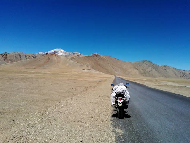 Jispa to Leh route - Moore Plains