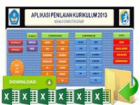 Aplikasi Raport Kurikulum 2013 Kelas 4 SD Format Excel