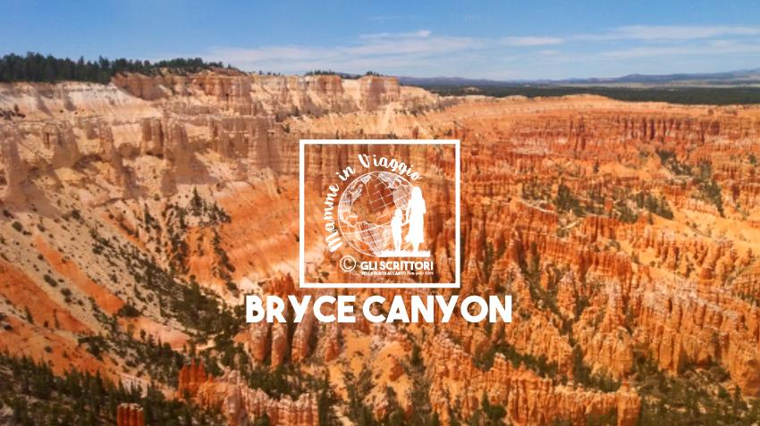Coi bambini nel Bryce Canyon National Park in auto