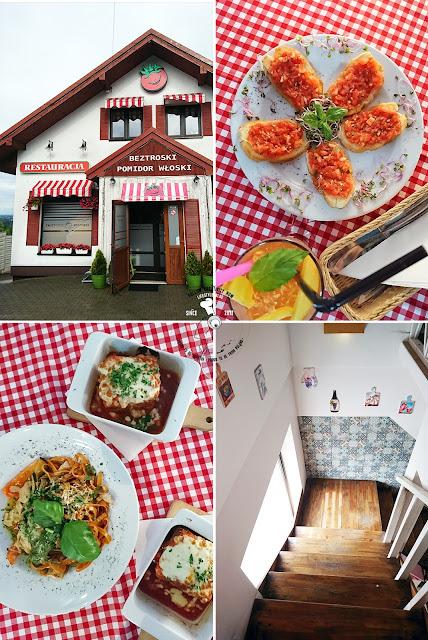 restauracje w Wieliczce kuchnia malopolski beztroski pomidor wloski trattoria pizzeria gdzie zjeśc w wieliczce