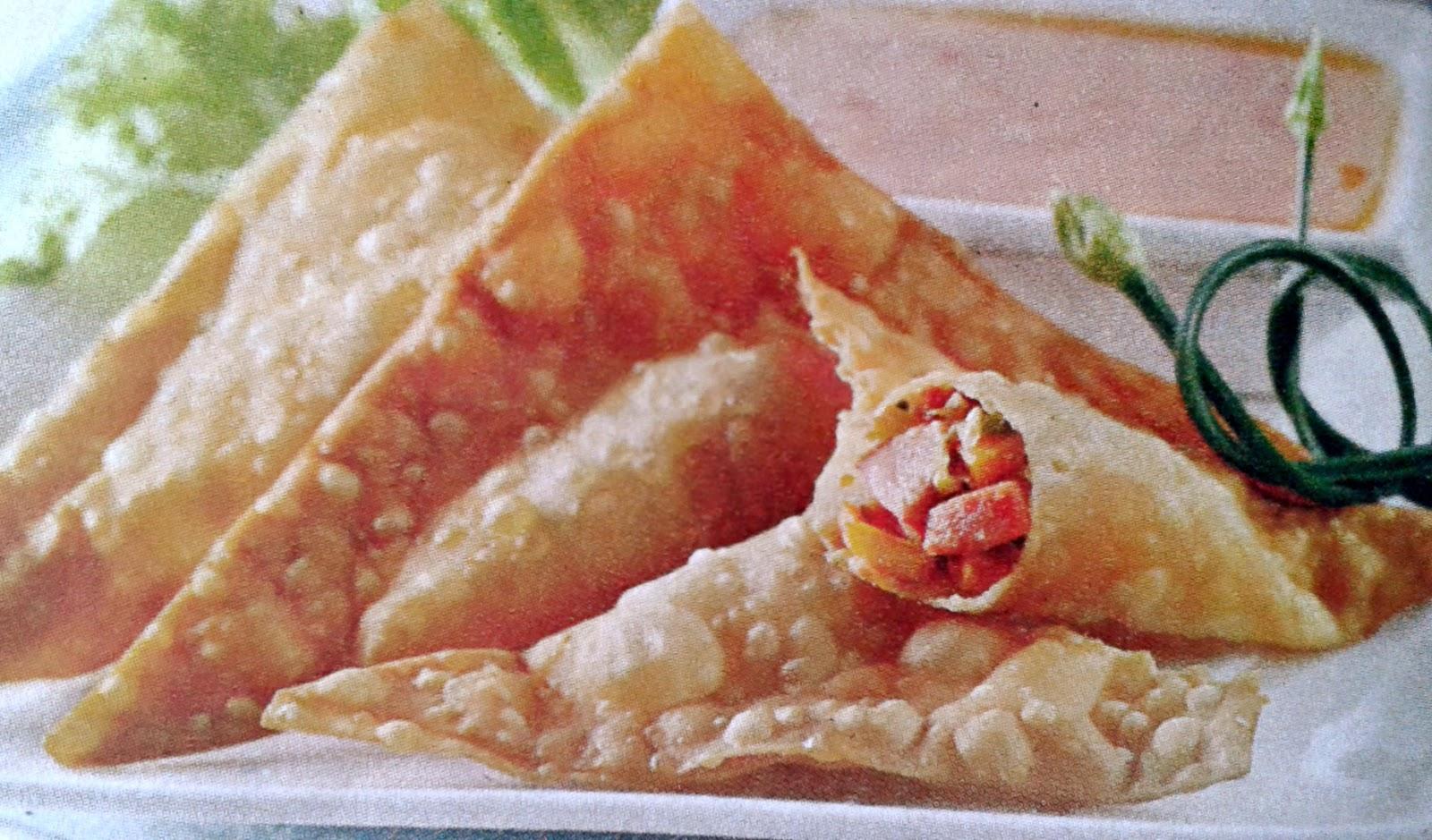 Gambar Resep Pangsit Goreng Sosis Ayam Pedas