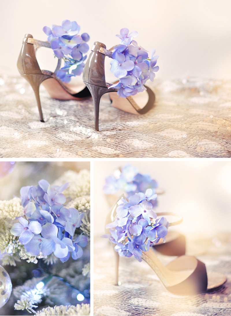Shine Trim: Featured DIY: Flower Shoe Clips