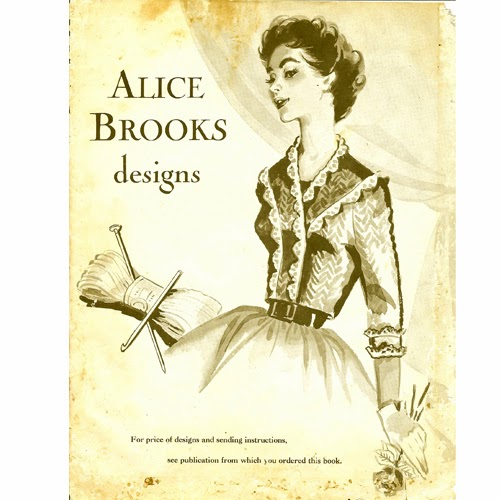 Mail Order Design Catalog, Alice Brooks