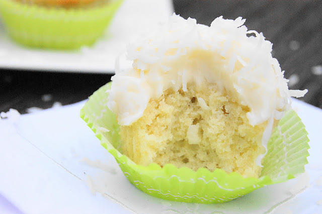 Barefoot Contessa's Coconut Cupcakes