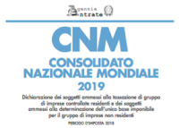 Aggiornamento software CNM 2019 1.1.0 per Mac, Windows e Linux