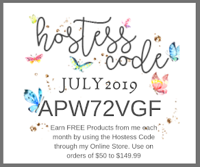 July 2019 Hostess Code