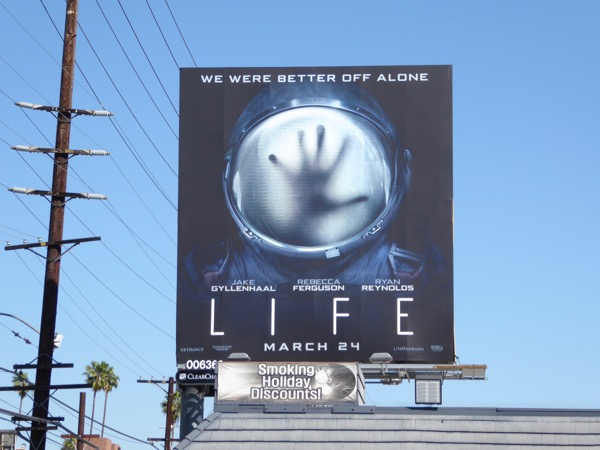 Life movie billboard