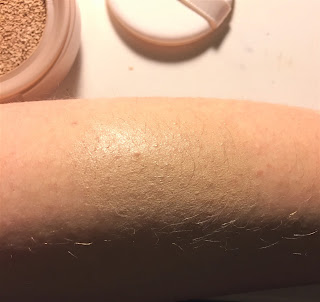 Maybelline Dream Cushion Liquid Foundation in Porcelain swatch