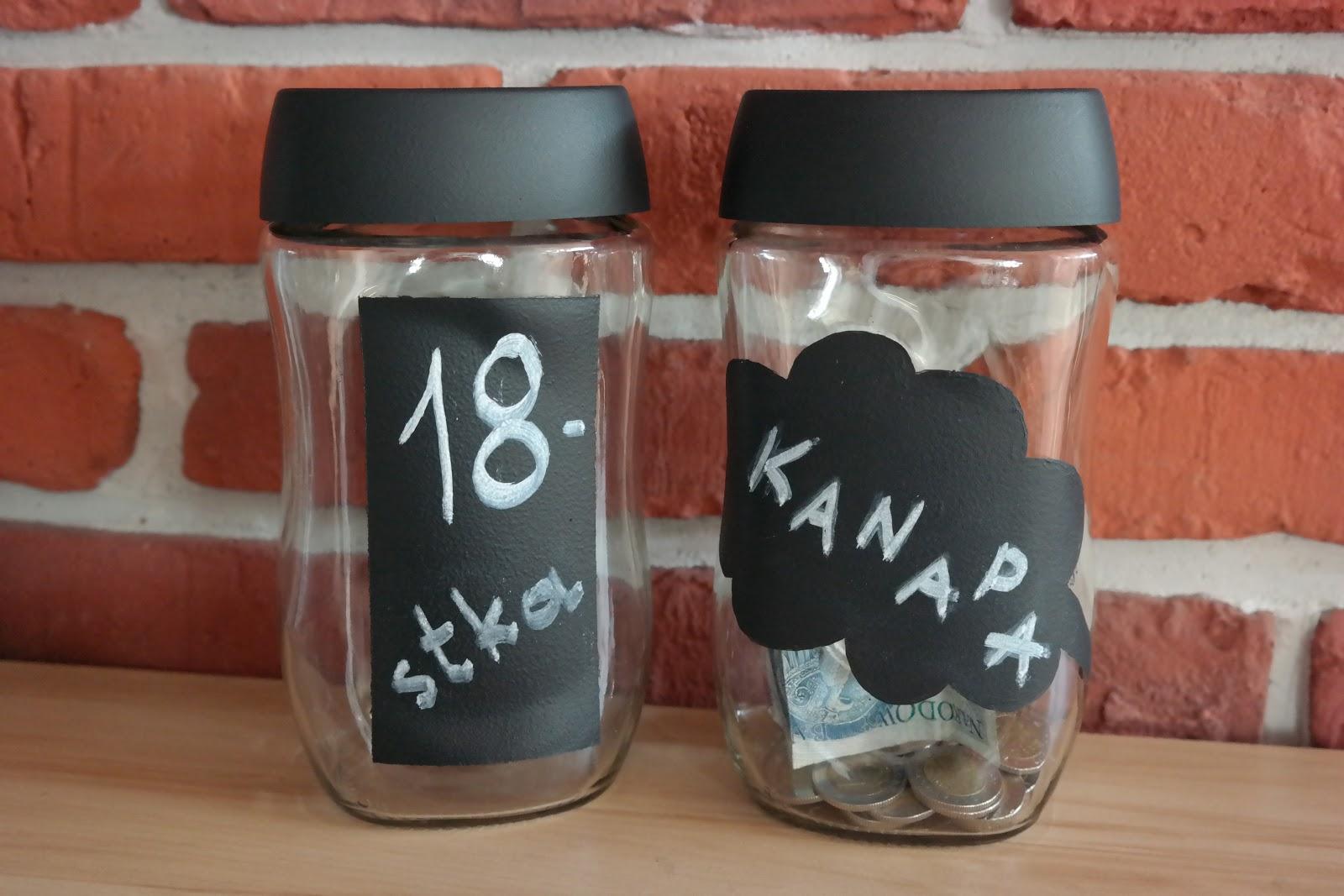 Skarbonka ze słoika - DIY i mój sposób oszczędzania