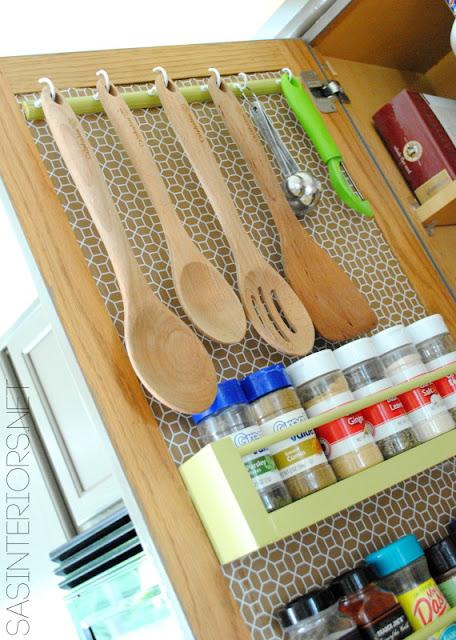 Pohrana stvari u kuhinji - unutrašnjost vrata