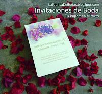 Invitaciones para Boda imprimibles economicas guatemala