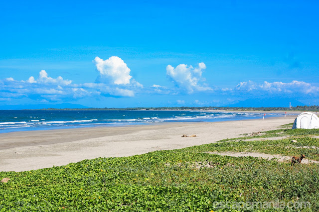 Bagasbas Beach - one of the top tourist attractions in Camarines Norte