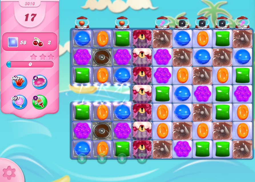 Candy Crush Saga level 3010