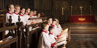 Choir of St John's College, Cambridge - photo Benjamin Ealovega