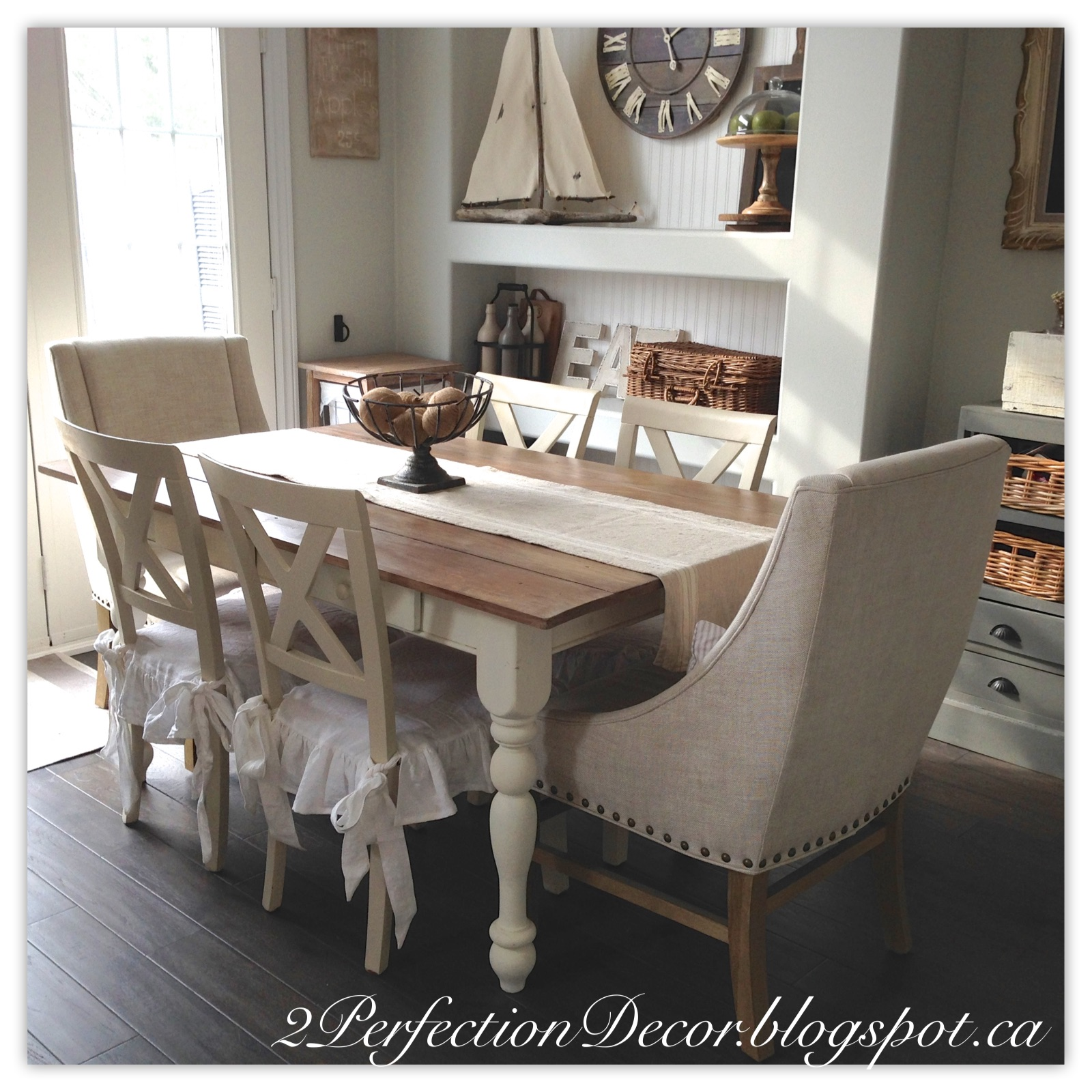 Amazing And here you have it our pleted Rustic Planked Farmhouse Table