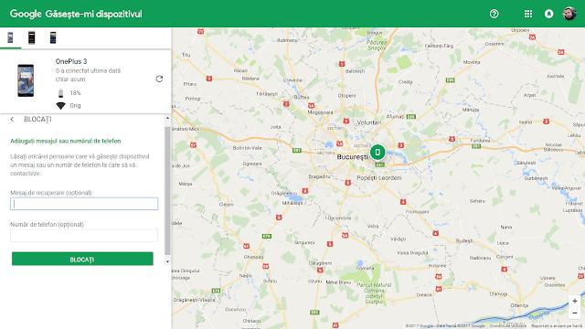 Cum să găsești un telefon Android pierdut sau furat