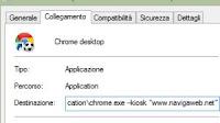 Parametri più utili per lanciare Chrome (i trattini --)