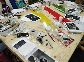 Charcoal drawing and sketching workshop