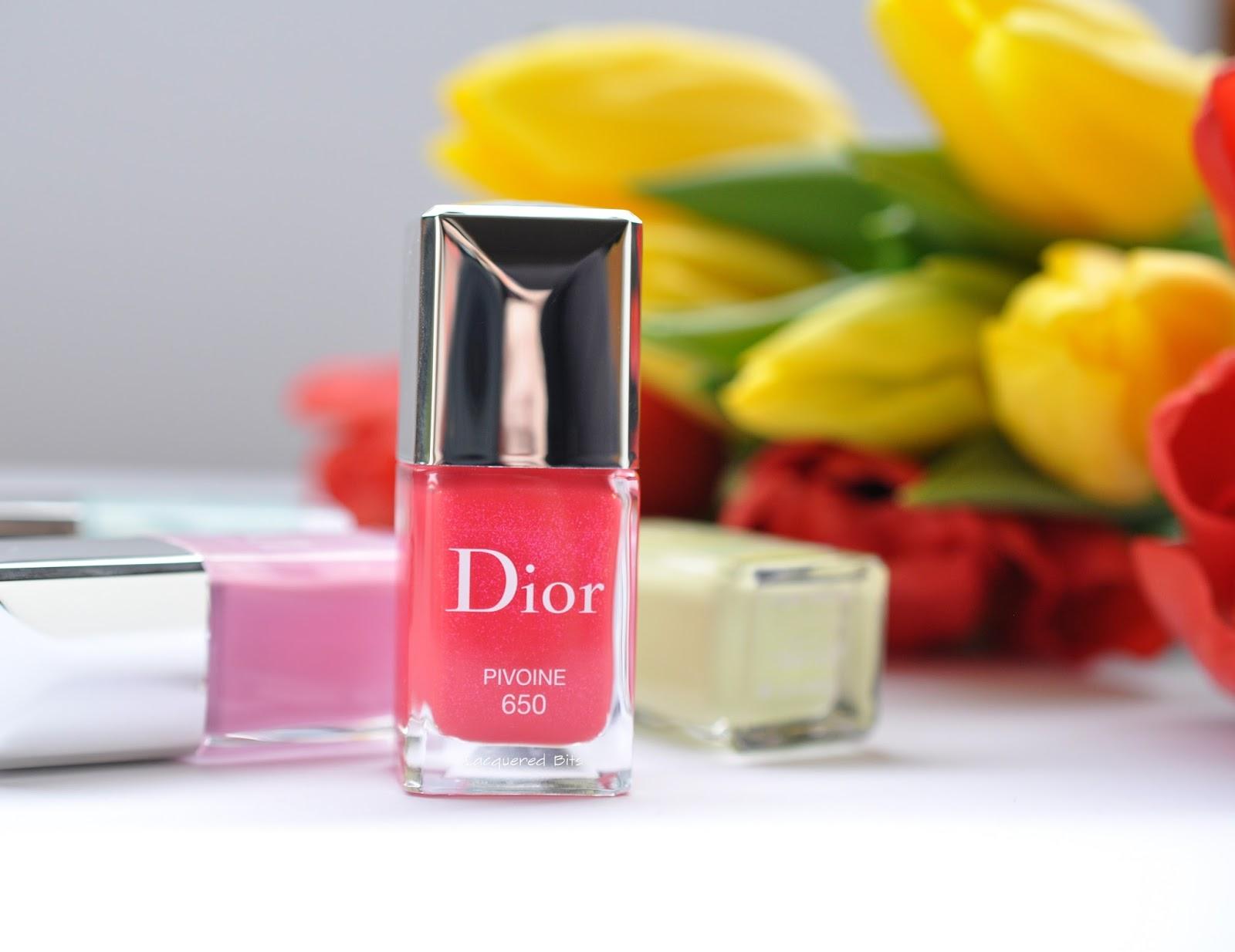 Pivoine - Dior Spring 2016 Glowing Gardens