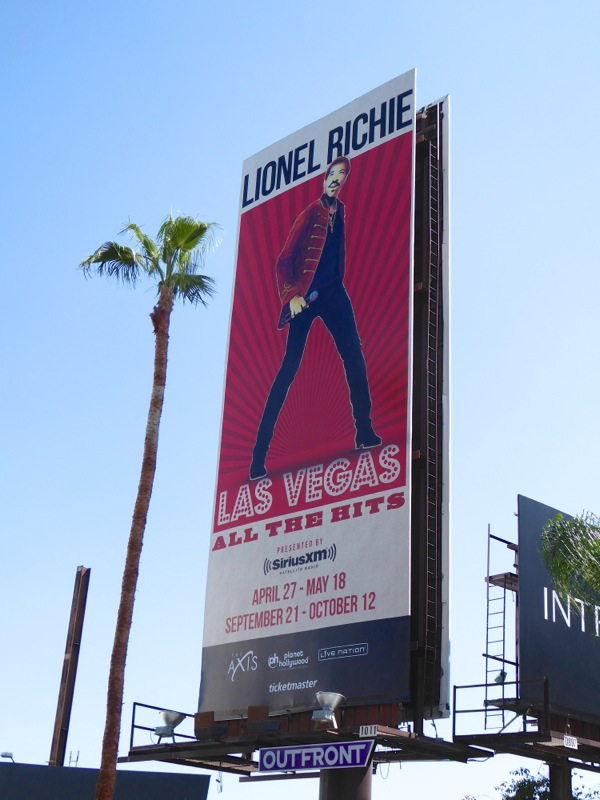 Lionel Richie Vegas Hits billboard