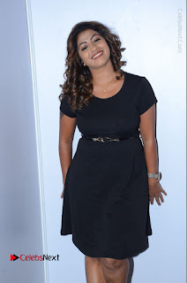 Tollywood Actress Geethanjali Thasya Latest Pos in Black Short Dress at Nanna Nenu Na Boyfriends Audio Launch  0013.JPG