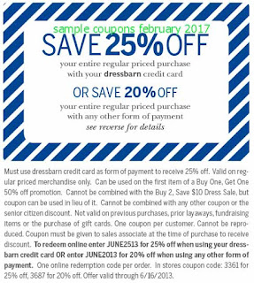free Dress Barn coupons for february 2017
