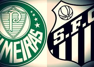 Clássico entre Palmeiras x Santos  sábado pela série A -30/09/2017