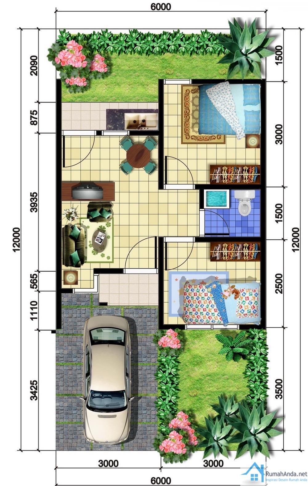 Gambar Rumah Minimalis Ukuran 6 X 14 Agape Locs