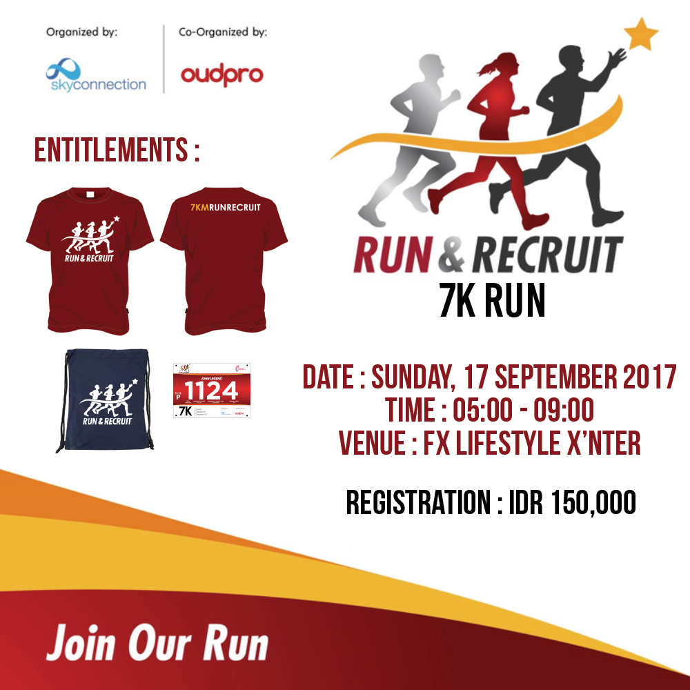 Run and Recruit • 2017
