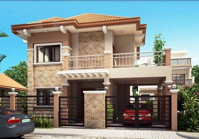 Desain Rumah Minimalis Tampak Depan 2 Lantai Elegan