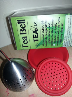 #TeaVasTeaBell Loose Leaf Tea Infuser / Steeper / Strainer