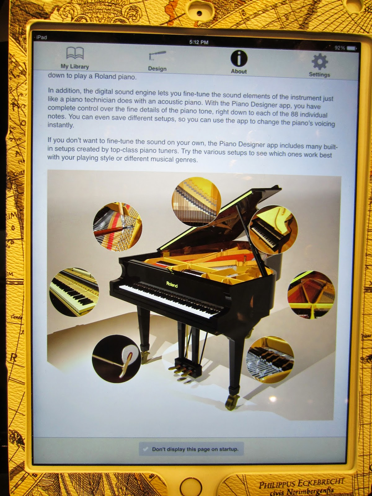az piano reviews review roland piano designer ipad ios app recommended for selected roland. Black Bedroom Furniture Sets. Home Design Ideas