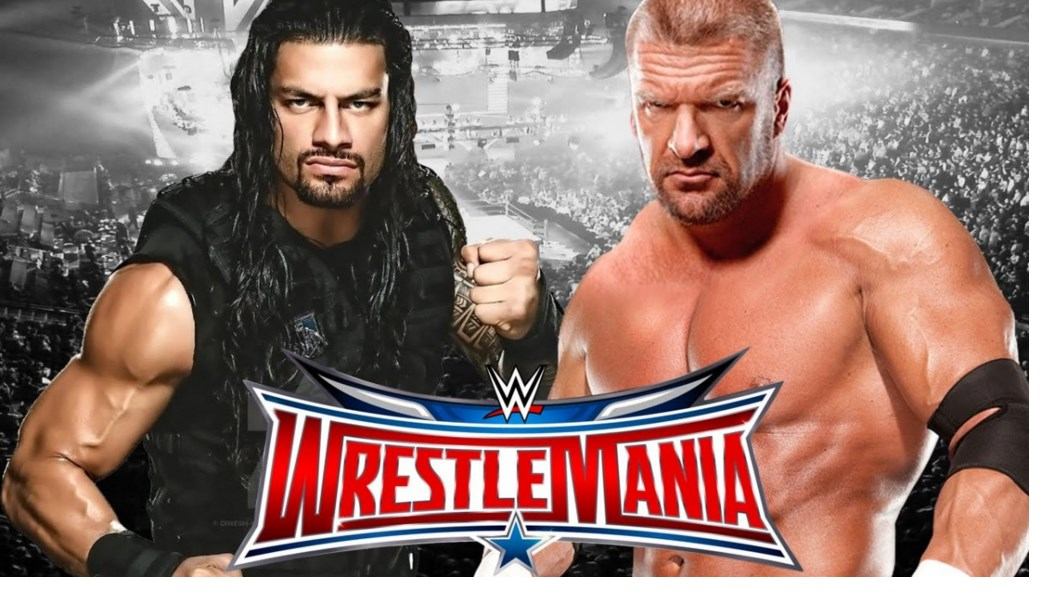 Wrestlemania Live Stream Triple H vs Roman Reigns