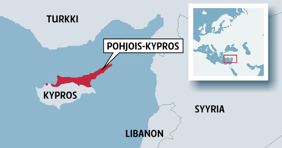 Kypros Kartta